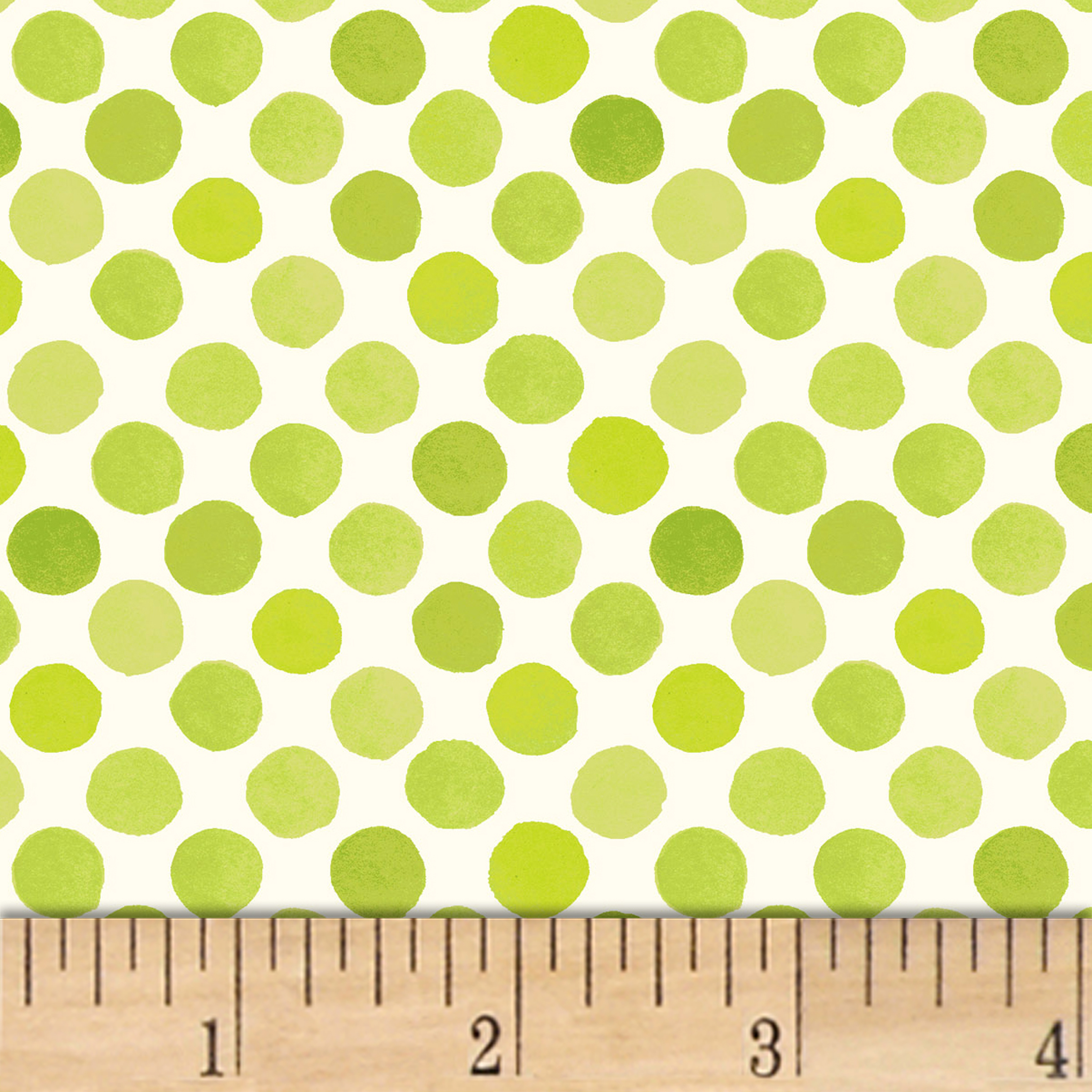 INOpets.com Anything for Pets Parents & Their Pets Lori's Art Garden Garden Dots Green Fabric