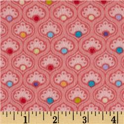 Curiosities Flannel Candy Lollipop Fabric