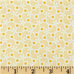 Penny and Friends Star Plaid Screamin Yellow