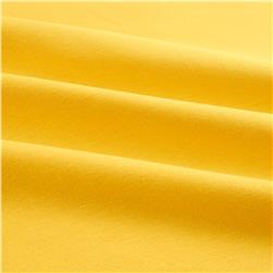 Riley Blake Cotton Jersey Knit Solid Yellow Fabric