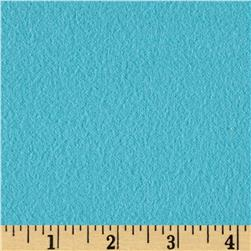 Fluffy Flannel Solids Turquoise