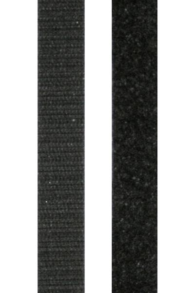 3/4'' x 5 Yards Velcro Fabric Fusion Tape Black