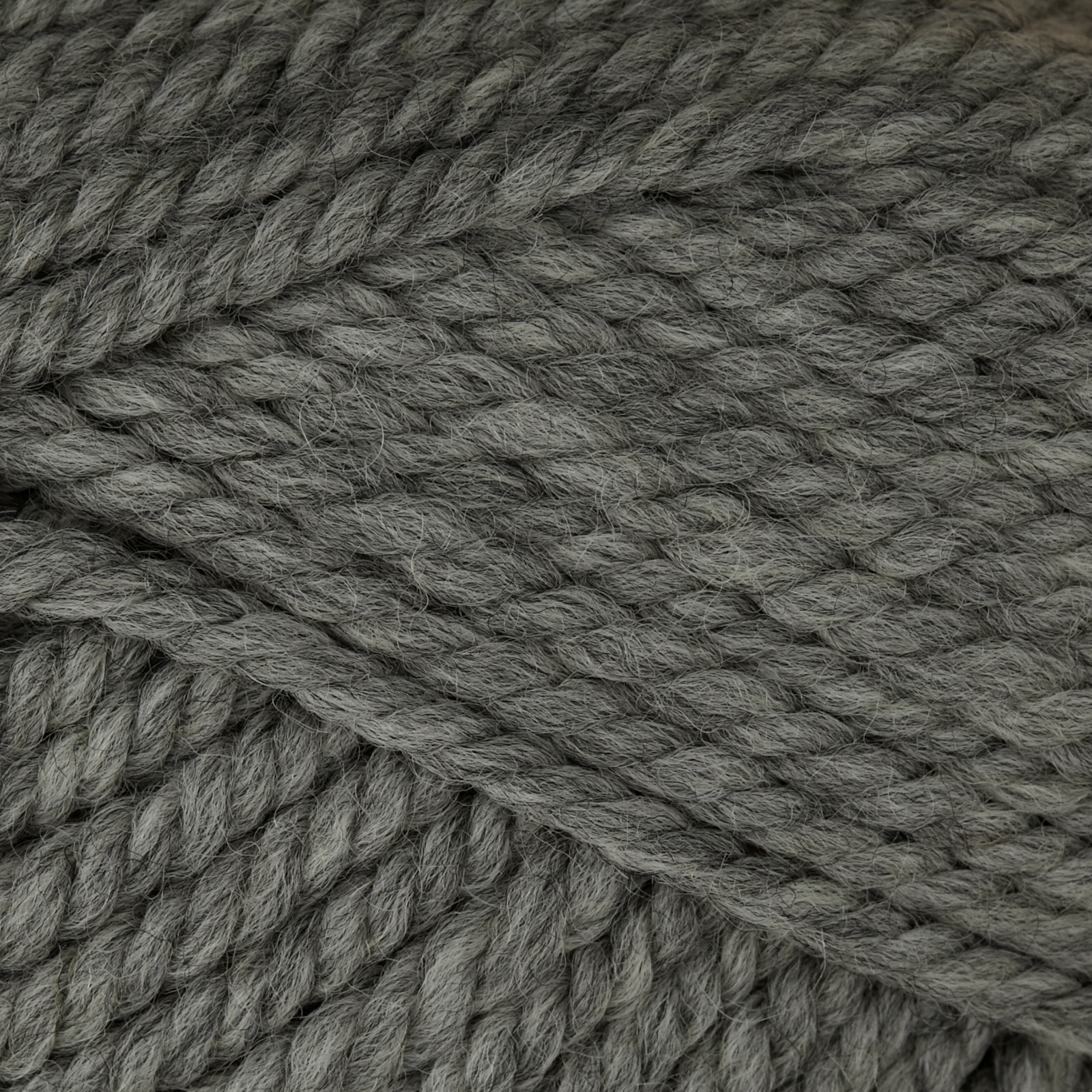 Patons Classic Wool Bulky Yarn (9044) Medium Grey Heather by LP Spinrite in USA