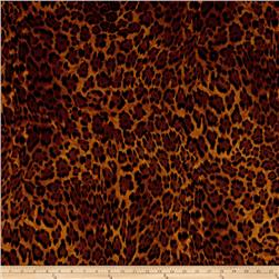 Flannel Animal Skins Leopard Multi