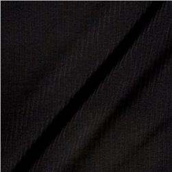 Designer 1x1 Knit Solid Black