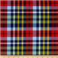 Newport Flannel Plaid Red