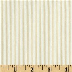 Coastal Ticking Stripe Natural