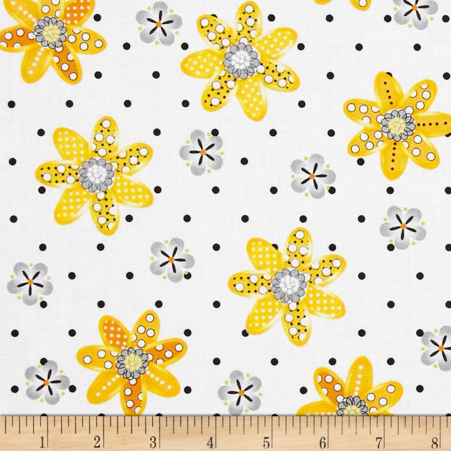 Sundance Daisy White/Yellow