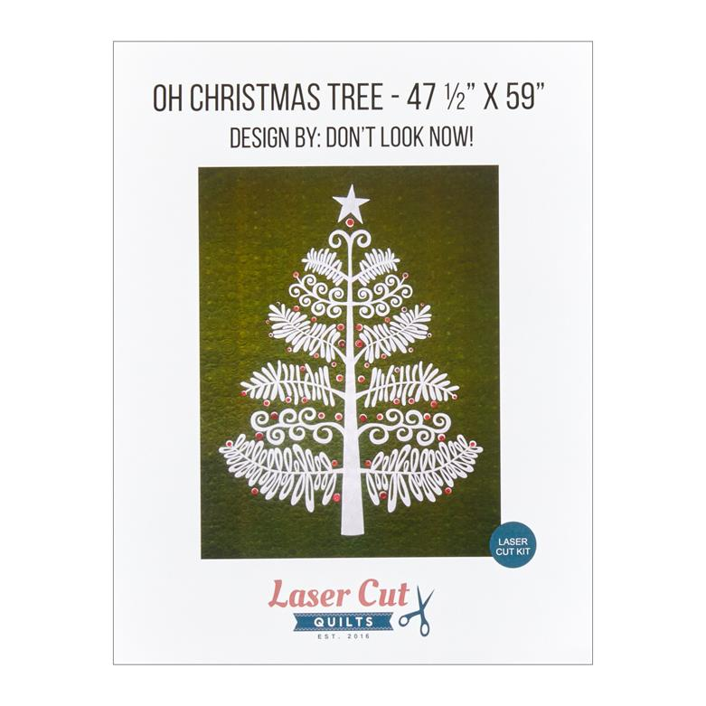 Oh Christmas Tree.Laser Cut Quilts Oh Christmas Tree Laser Cut Applique Kit