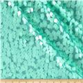 Square Dazzle & Mesh Sequin Mint