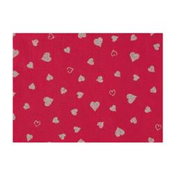 Fanci Felt 9x12'' Craft Cut Twinkle Heart Shocking