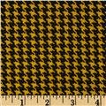 Spotlight Houndstooth Golden Yellow/Black