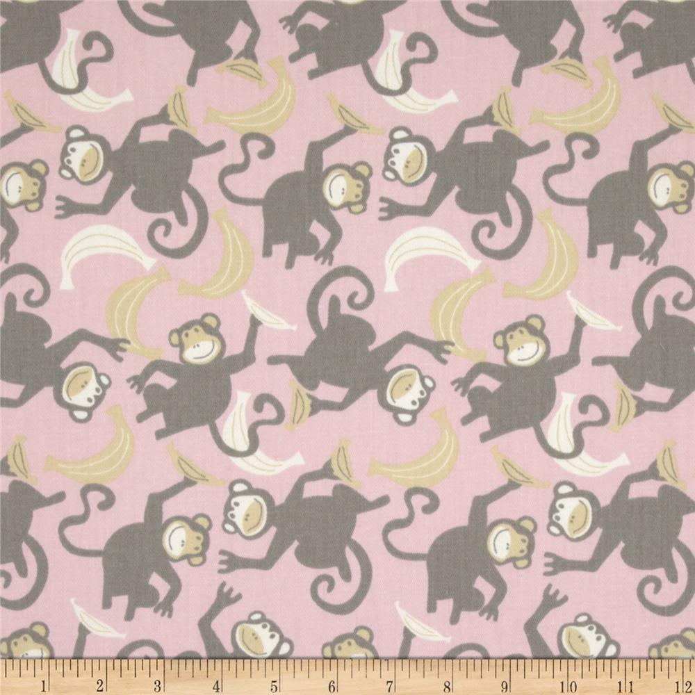 Premier Prints Chimps Twill Bella/Storm