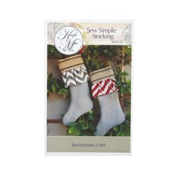Kenzie & Mac Sew Simple Stocking Pattern
