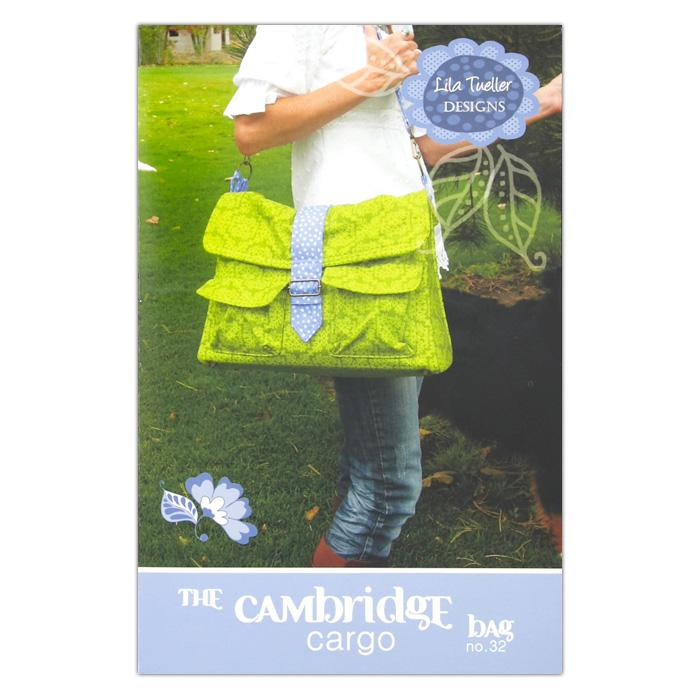 Lila Tueller The Cambridge Cargo Bag Pattern