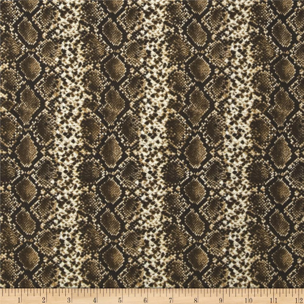 Safari Snakeskin Brown