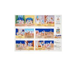 The Little King Soft Book 36 In. Panel Multi
