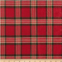 Holiday Blitz Large Plaid Red
