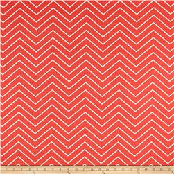 Premier Prints  Chevron Indoor/Outdoor Indian Coral