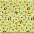 Painted Wings Mini Butterflies Lime