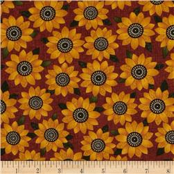 Harvest Song Sunflower Russet