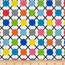 .COM Trellis Dots White/Multi