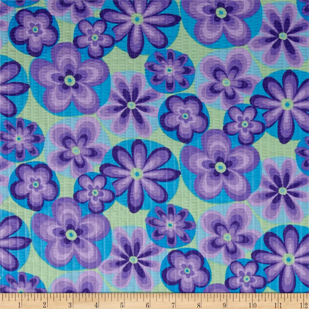 Tutti Fruitti Plisse Flowers Purple