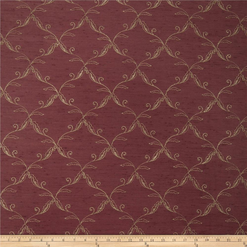 Trend 2666 Faux Silk Burgundy