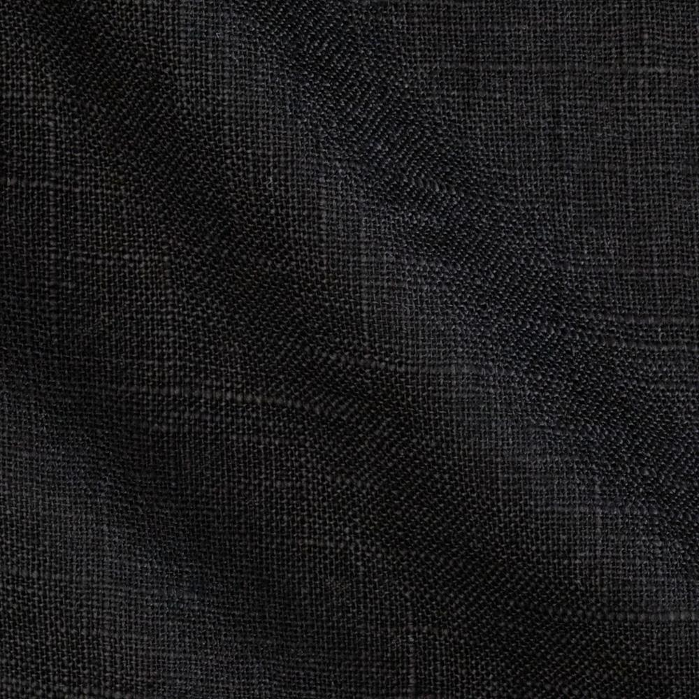 Acetex sunrise linen blend black discount designer for Black fabric