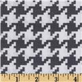 Michael Miller Everyday Houndstooth Grey