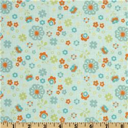 Dress Up Days Floral Aqua