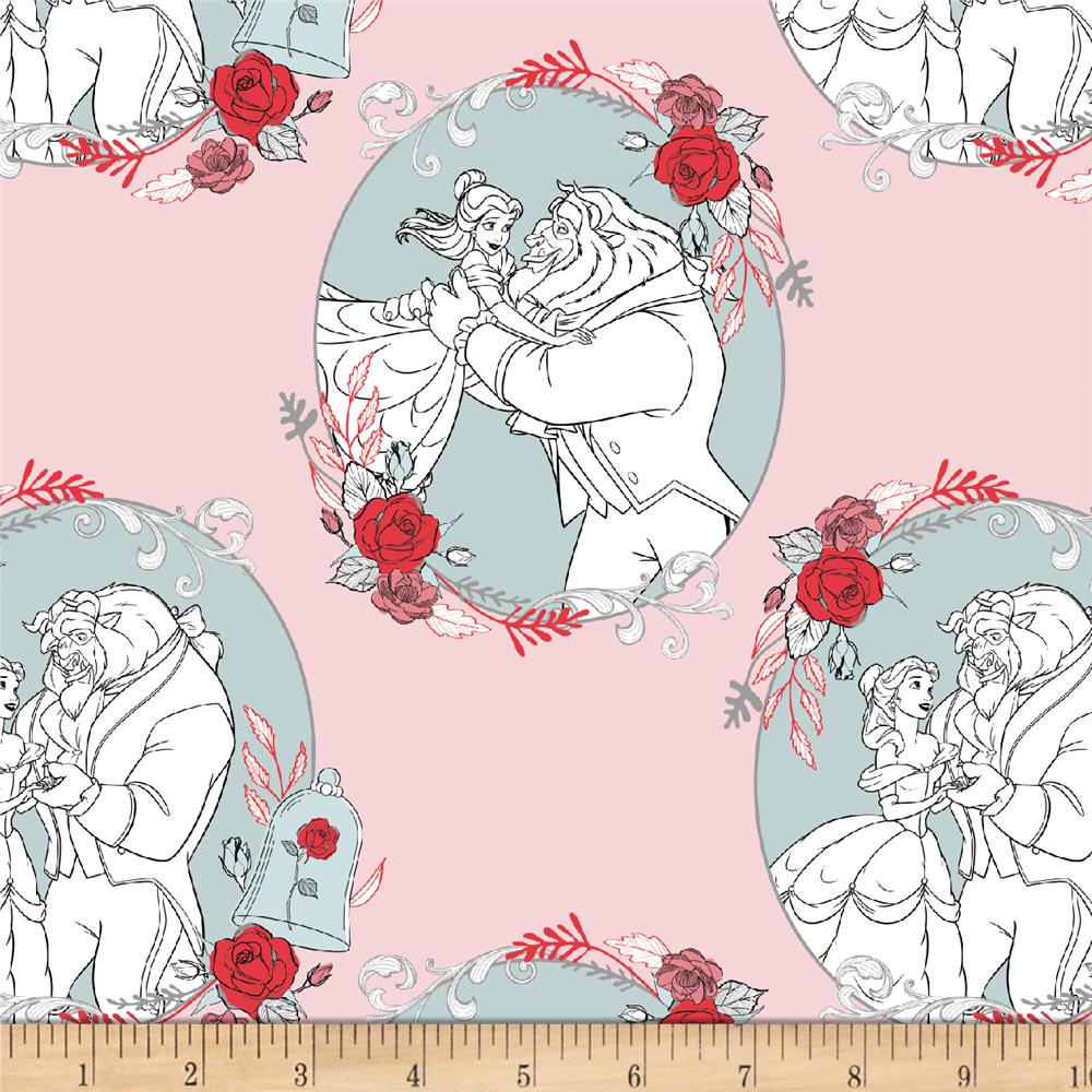Disney Beauty and the Beast Love Light Pink