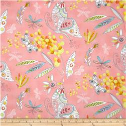 Michael Miller Flight Patterns Mimosa Pink