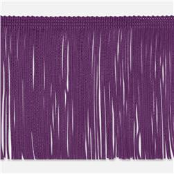 2'' Chainette Fringe Trim Purple