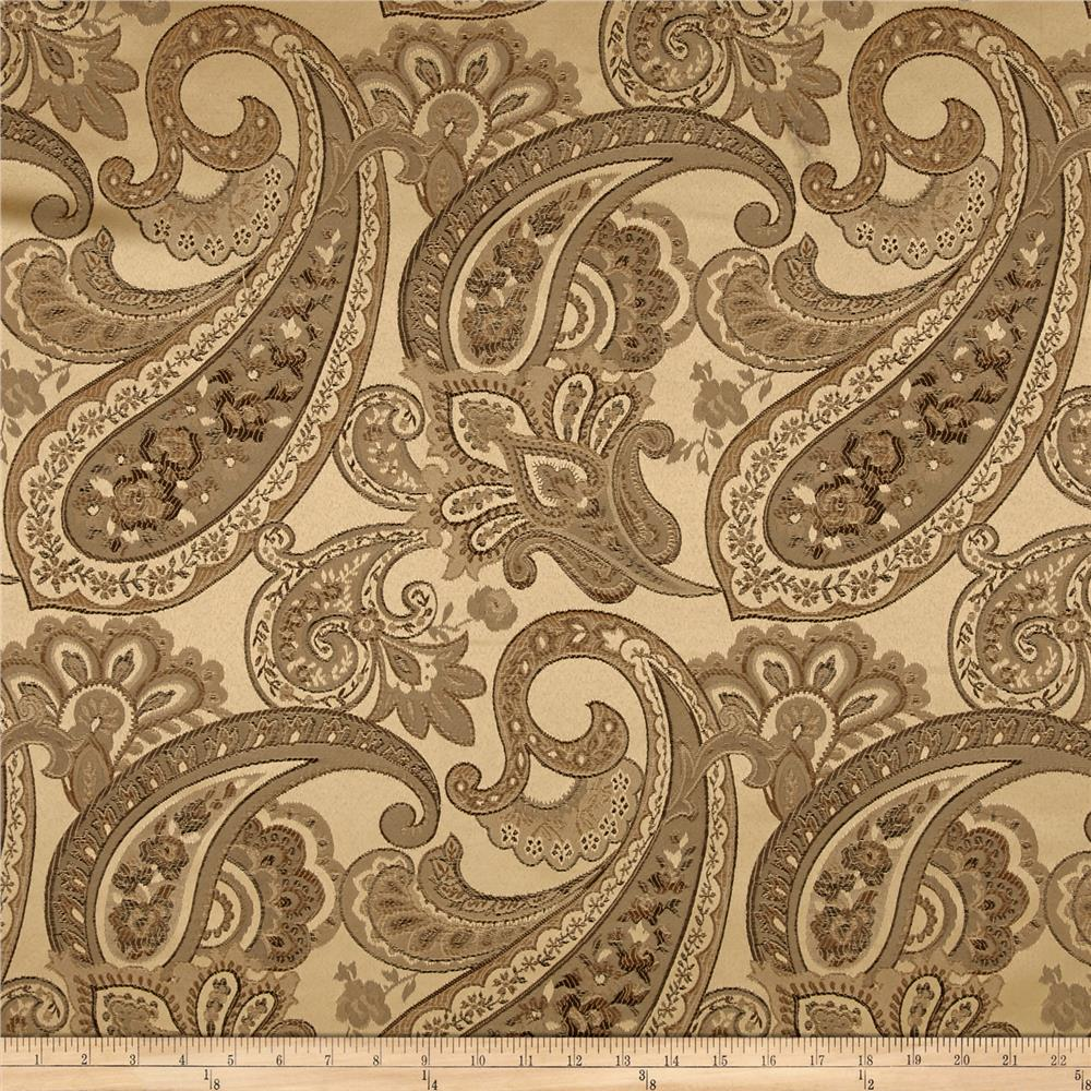 Eroica Candytuft Paisley Jacquard Antique