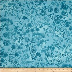 Natural Wonders Wildflower Silhouettes Light Blue