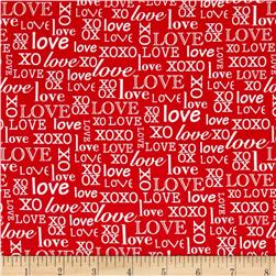 So Sweet Love Words Red