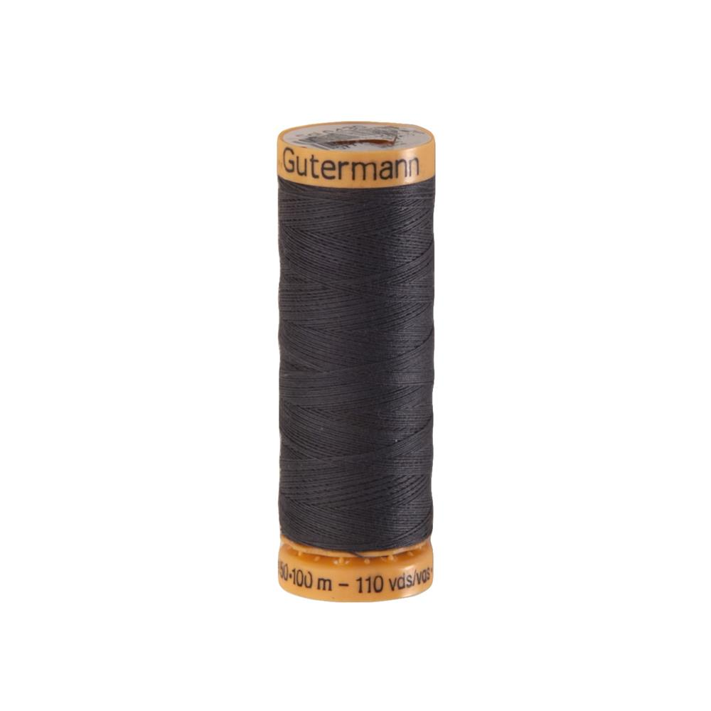 Gutermann Natural Cotton Thread 100m/109yds Graphite