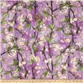 Michael Miller Vignette Cherry Bloom Orchid