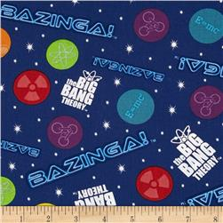 The Big Bang Theory Bazinga Glow Navy/Multi