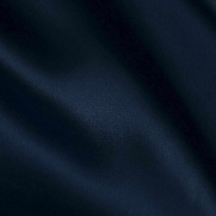 Stretch Charmeuse Satin Navy