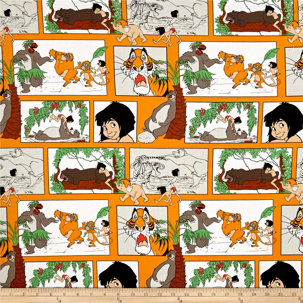 Disney Jungle Book Main Character Blocks Orange