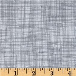 Timeless Treasures Sketch Flannel Grey