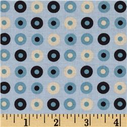 Riley Blake Detour Dots Grey Fabric