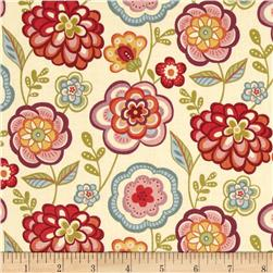 Deco Flowers Large Vine Floral Cream