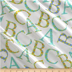 Michael Miller Cynthia Rowley Oh Baby Charmeuse Satin