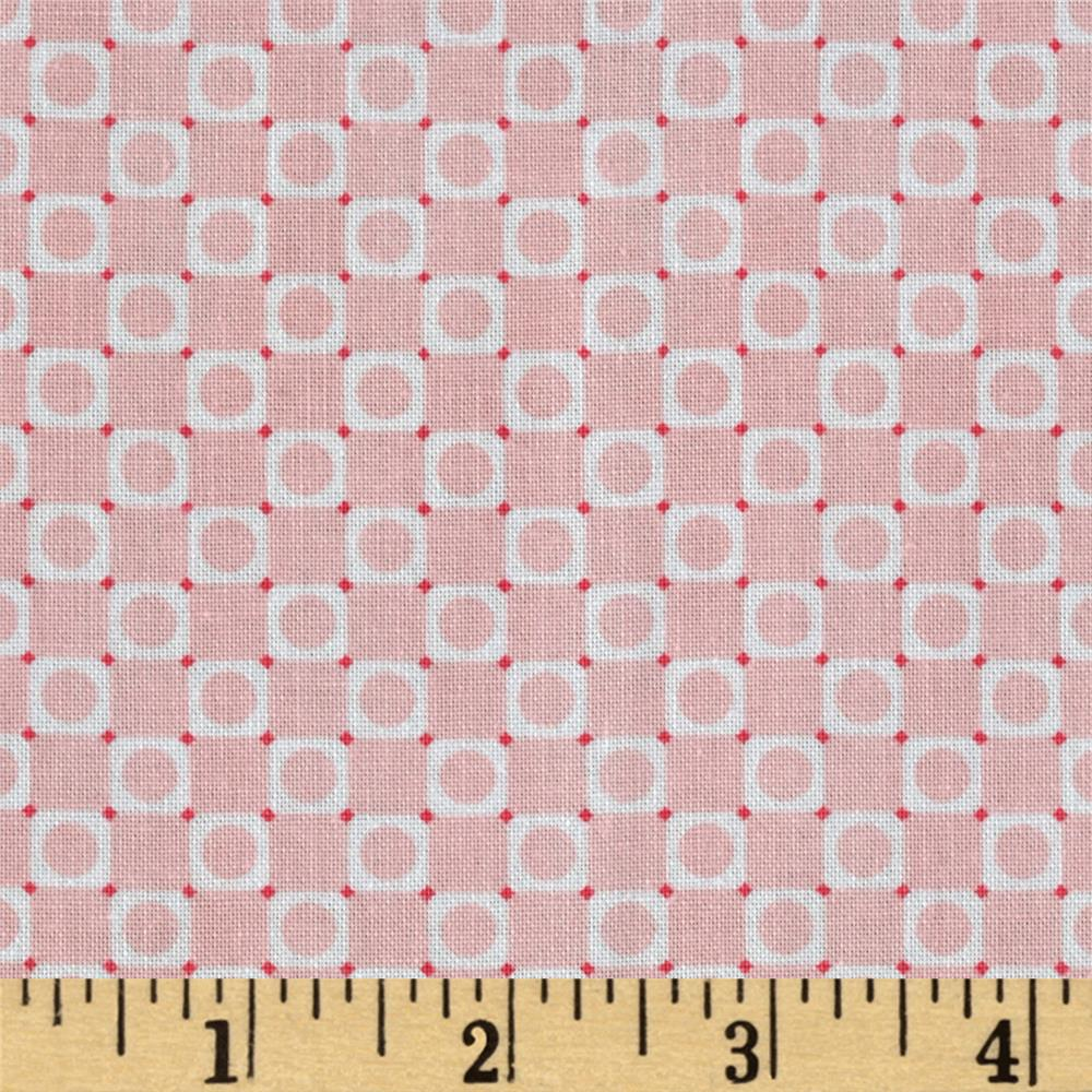 Anything Goes Basics Circle Square Pink