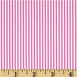 Dear Stella Pixie Dust Dress Stripe Fuschia