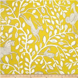 Dwell Studio Pantheon Slub Dandelion Fabric