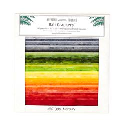 Bali Batiks Mercury 10 In. Crackers